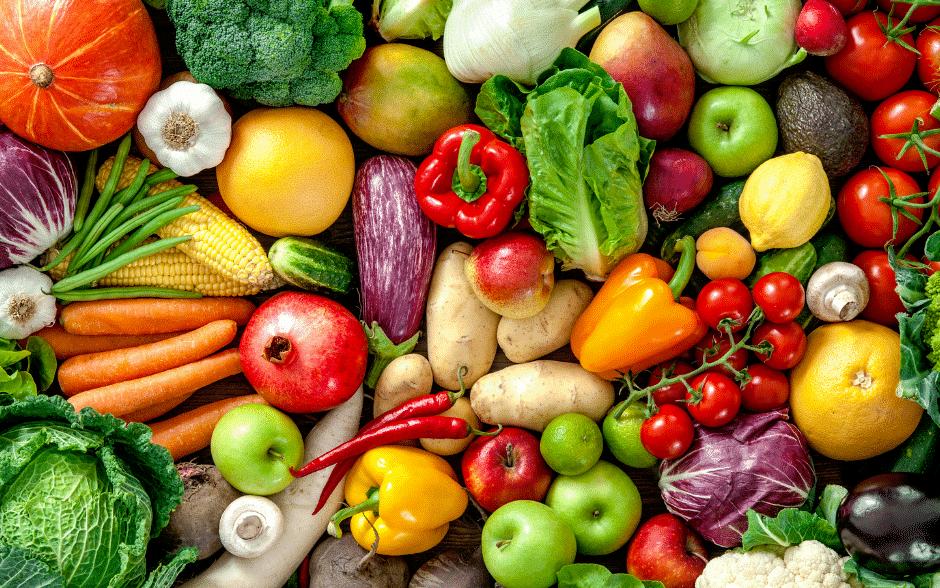 Fruchtbarkeit Mann Obst und Gemüse