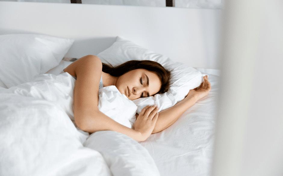 guter schlaf Fruchtbarkeit Frau